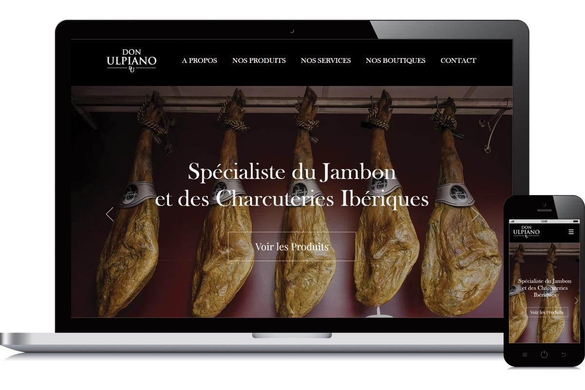 Création du site web Don Ulpiano