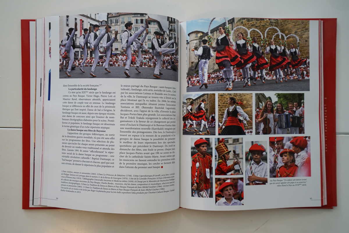 Parution dans le livre «Les Fêtes de Bayonne» de Guy Dubasque