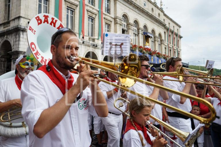 Fêtes de Bayonne : Défilé des Bandas
