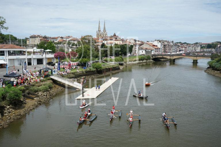 Fêtes de Bayonne : Course de pirogues