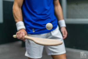 © Théo Cheval 2019 – Urball by Décathlon – Pala Gomme Pleine Homme – 45