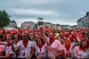 ©Théo Cheval 2019 – Fêtes de Bayonne – Concert Manau 02