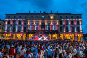 ©Théo Cheval 2019 – Fêtes de Bayonne – Concert Manau 09