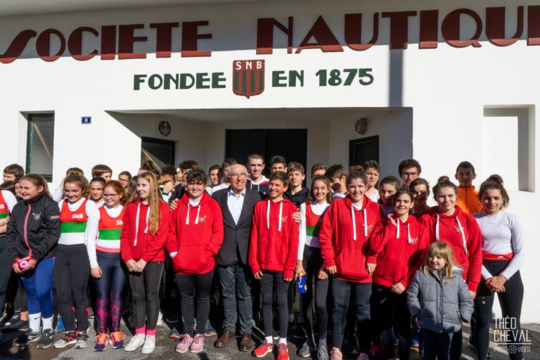 Inauguration de la Société Nautique de Bayonne