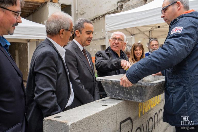 Inauguration Chantier Bayonne