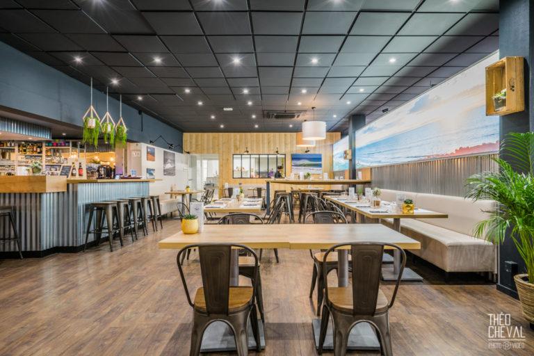 Healthy Cafe : Les lieux