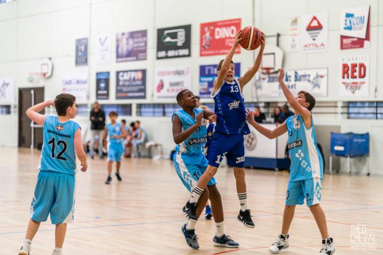 Basket : Match JAB-AB (Biarritz-Bayonne) en U13M