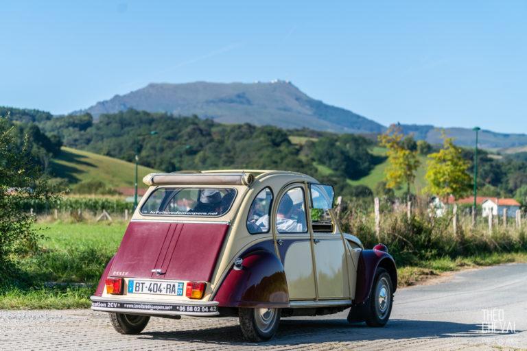 Séminaire Pays Basque : Rallye 4L