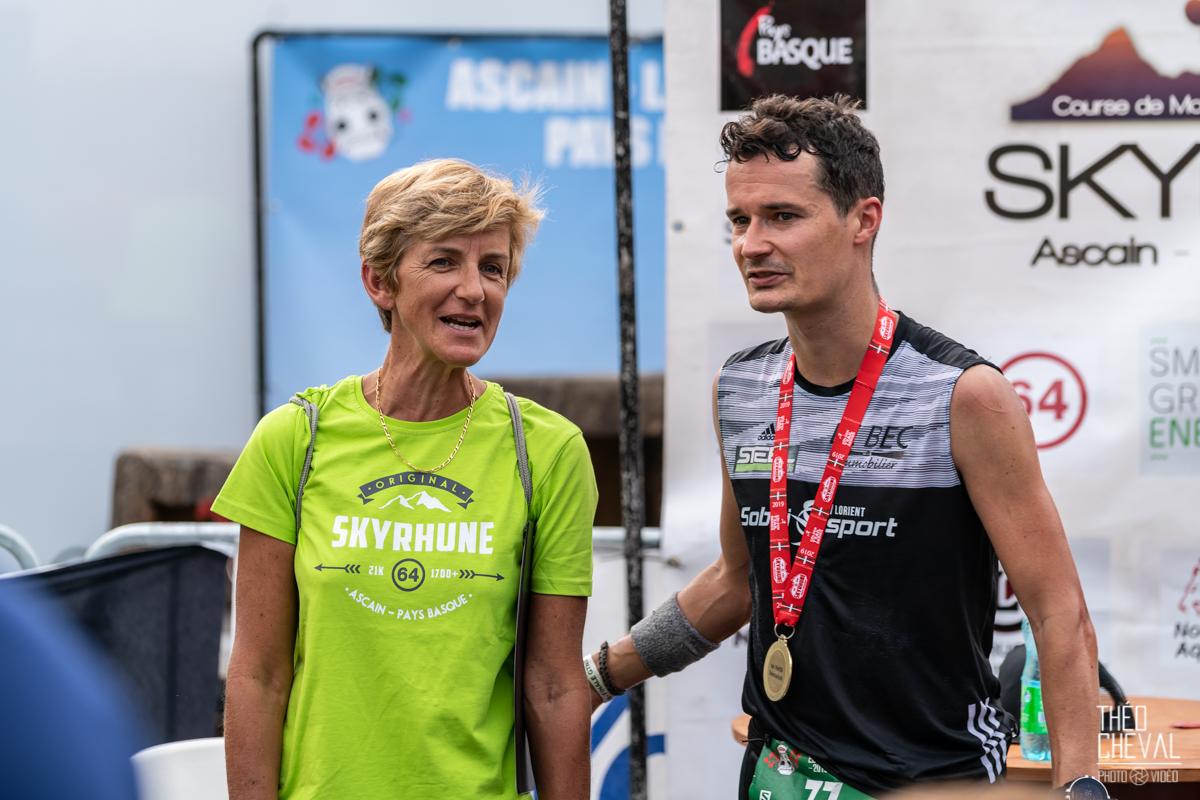 Trail de la Skyrhune – Suivi de l'athlète Jérémy Desdouets