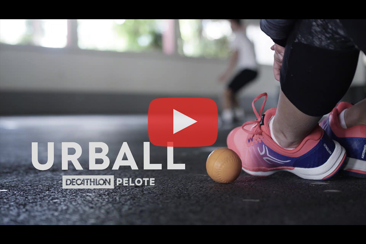 Urball – Decathlon Pelote : Présentation de 'One Wall'