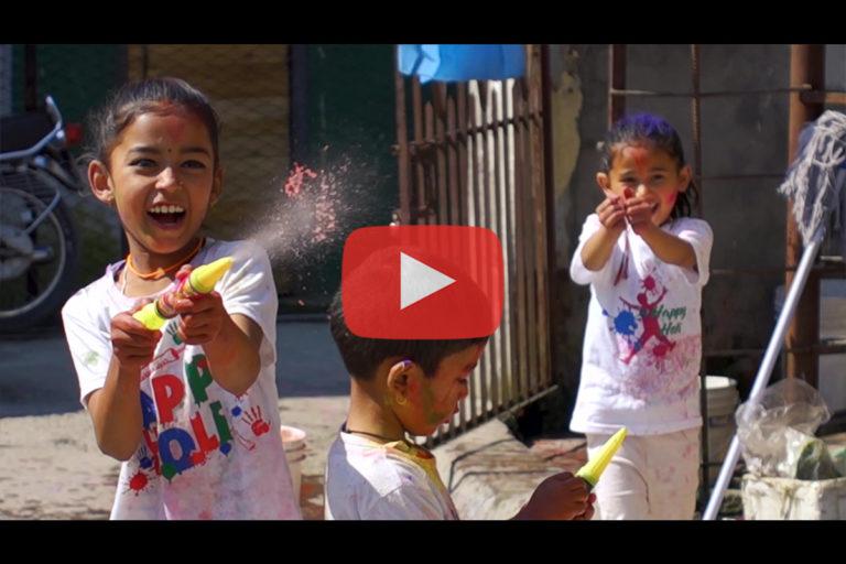 Découverte du Népal (4/4) : Holi à Pokhara (Fête des Couleurs)