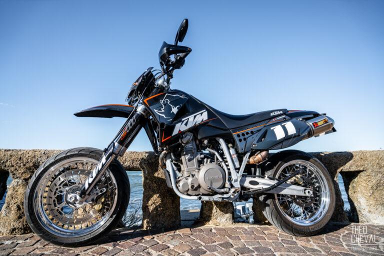 Moto : Shooting KTM